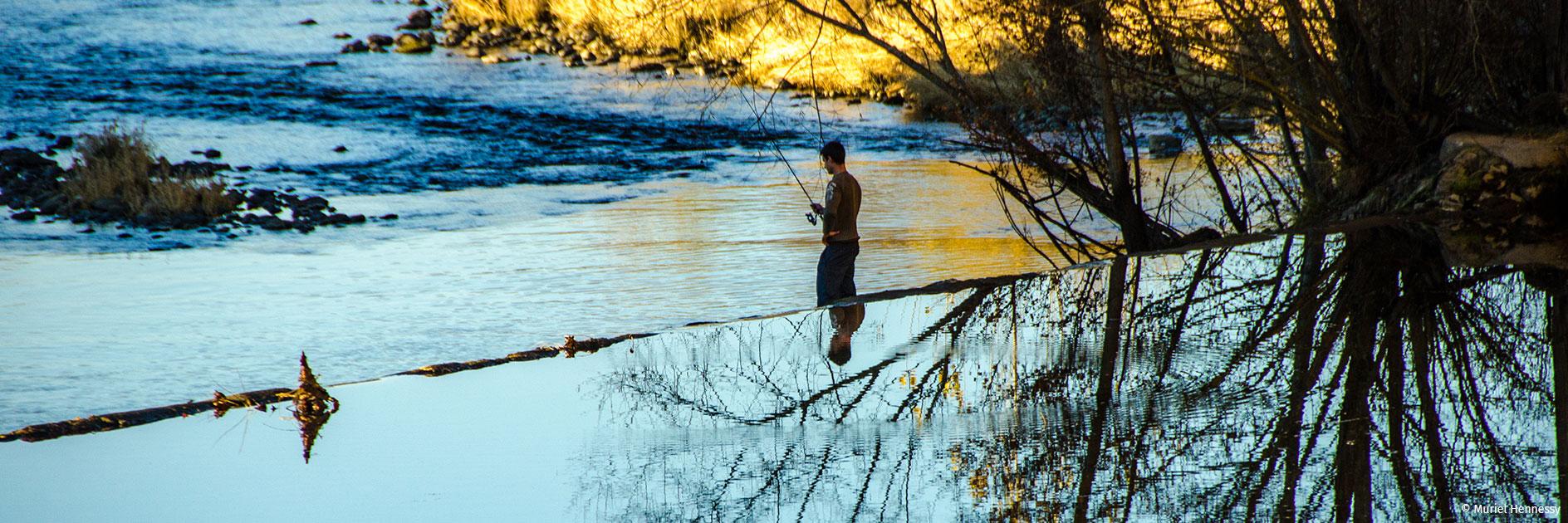 Le camping l'Ecrin Vert vous permet de pratiquer l'activité pêche dans l'Aveyron