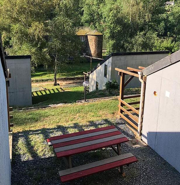 Lodges confort 4 personnes en location, au camping nature l'Ecrin vert en Aveyron
