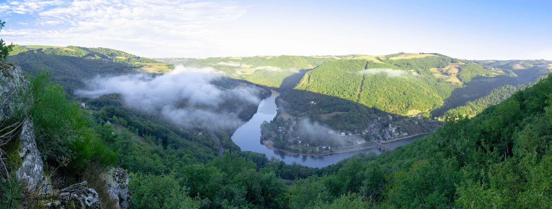 Activités et visite de l'arrière-pays du camping l'Ecrin vert labellisé pêche en Aveyron