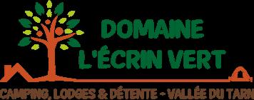 Logo du camping dans la vallée du Tarn l'Ecrin vert