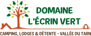 Logo du camping en Aveyron l'Ecrin vert